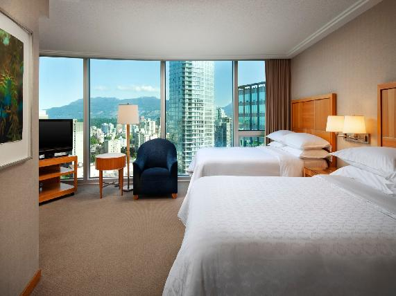 Sheraton Vancouver Wall Centre Hotel hotel deals